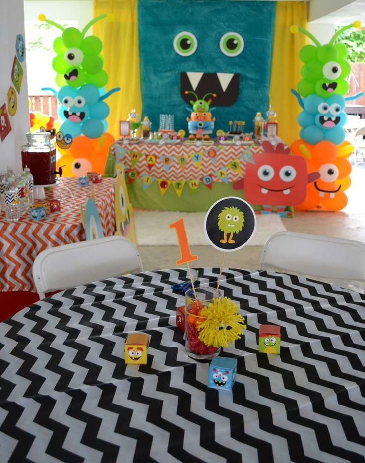 Monsters Birthday Party Ideas