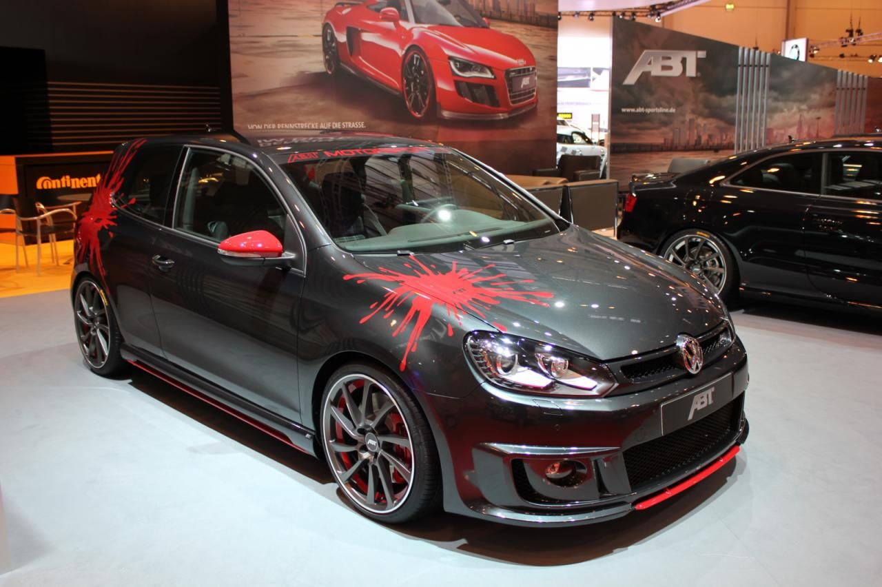 Actually really like the Golf GTI right now because it has enough