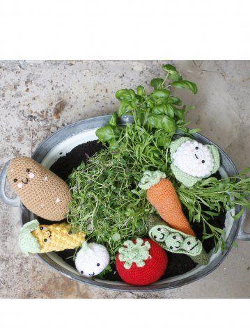 my designs: vegetable amigurumis for Novita