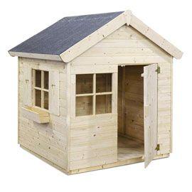 Castorama jardipolys janaka maisonette cabane enfant bois - Cabane de jardin en bois leroy merlin ...