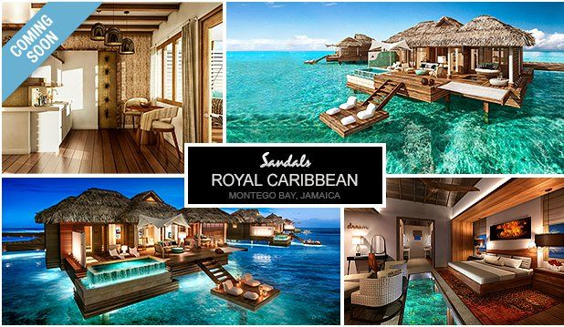 Sandals Building Overwater Villas Bungalows In Jamaica Photo Credit Resorts Website The Highly Anticipated Overw