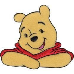 Disney Classic Pooh Fabric Iron On Appliqués Style#5 Winnie  Eeyore Tigger