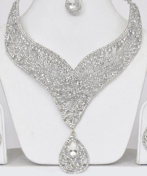 caa068375ab75 Shining Silver Jewelry Set : Online Shopping, - Shop for great ...