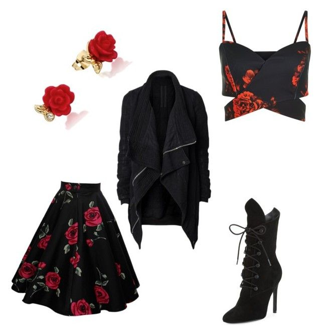 """""""Roses"""" by levy-rose ❤ liked on Polyvore featuring DRKSHDW, Kendall + Kylie and Disney"""