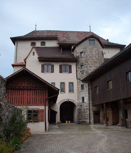 Château d'Attalens, Canton Fribourg