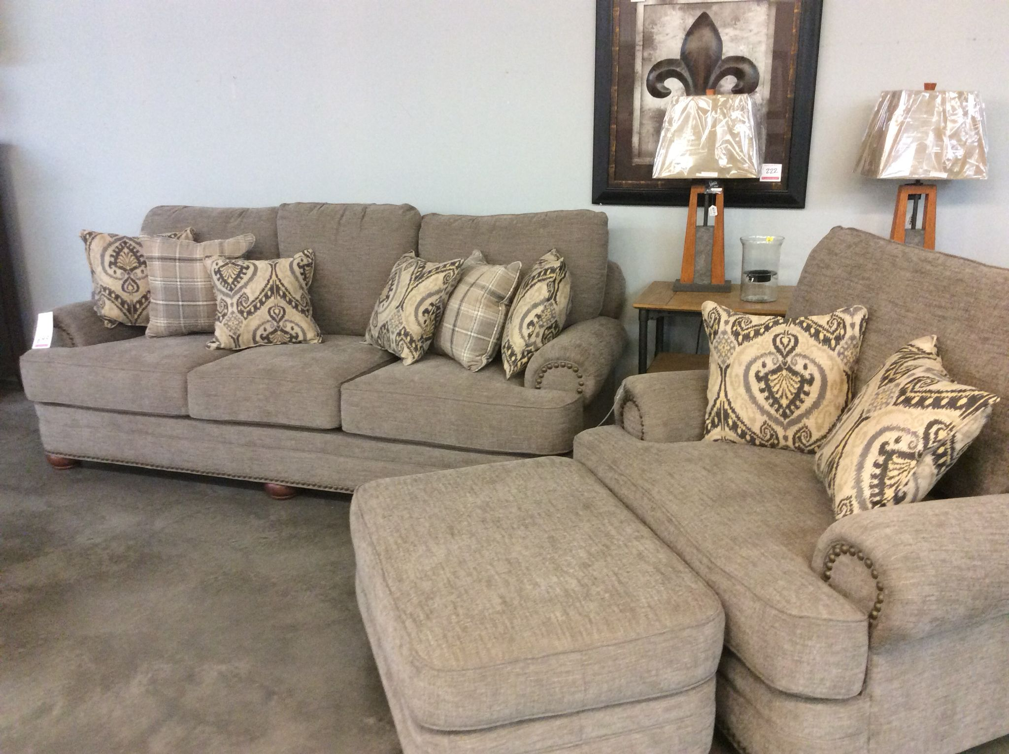 Palmer Sofa Sofas N Stuff Manchester The J Henry Chair And Ottoman Living Room Groups