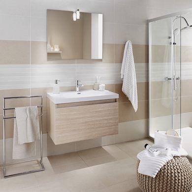 Les meubles gain de place dans la salle de bains salle de bain zen pinterest petite salle - Meuble salle de bain lapeyre ...