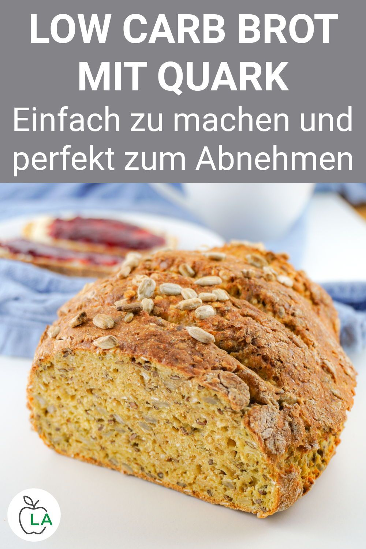 Low Carb Brot mit Sonnenblumenkernen – Gesundes Rezept mit Quark – Carey&CleanEatingS
