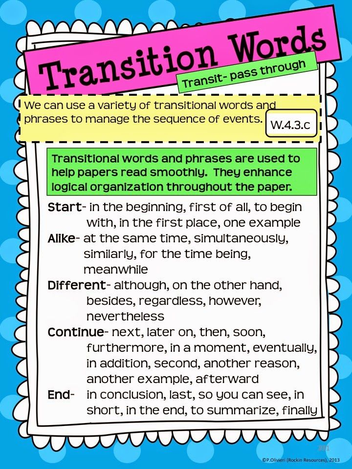 narrative essays transitions Good narrative essay topics, ideas and writing prompts some students find narrative essays to be a fun, freeing experience.