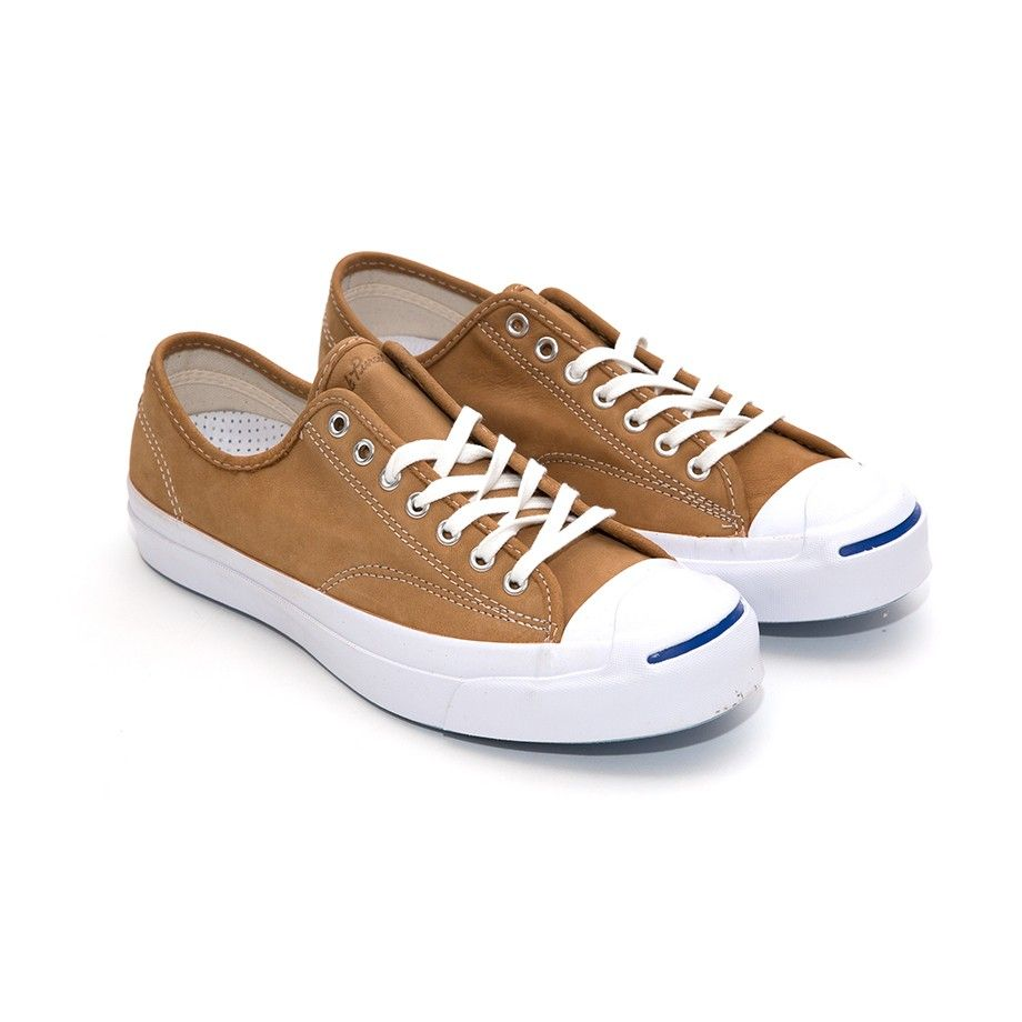 Converse Jack Purcell Signature - Luggage Tan White