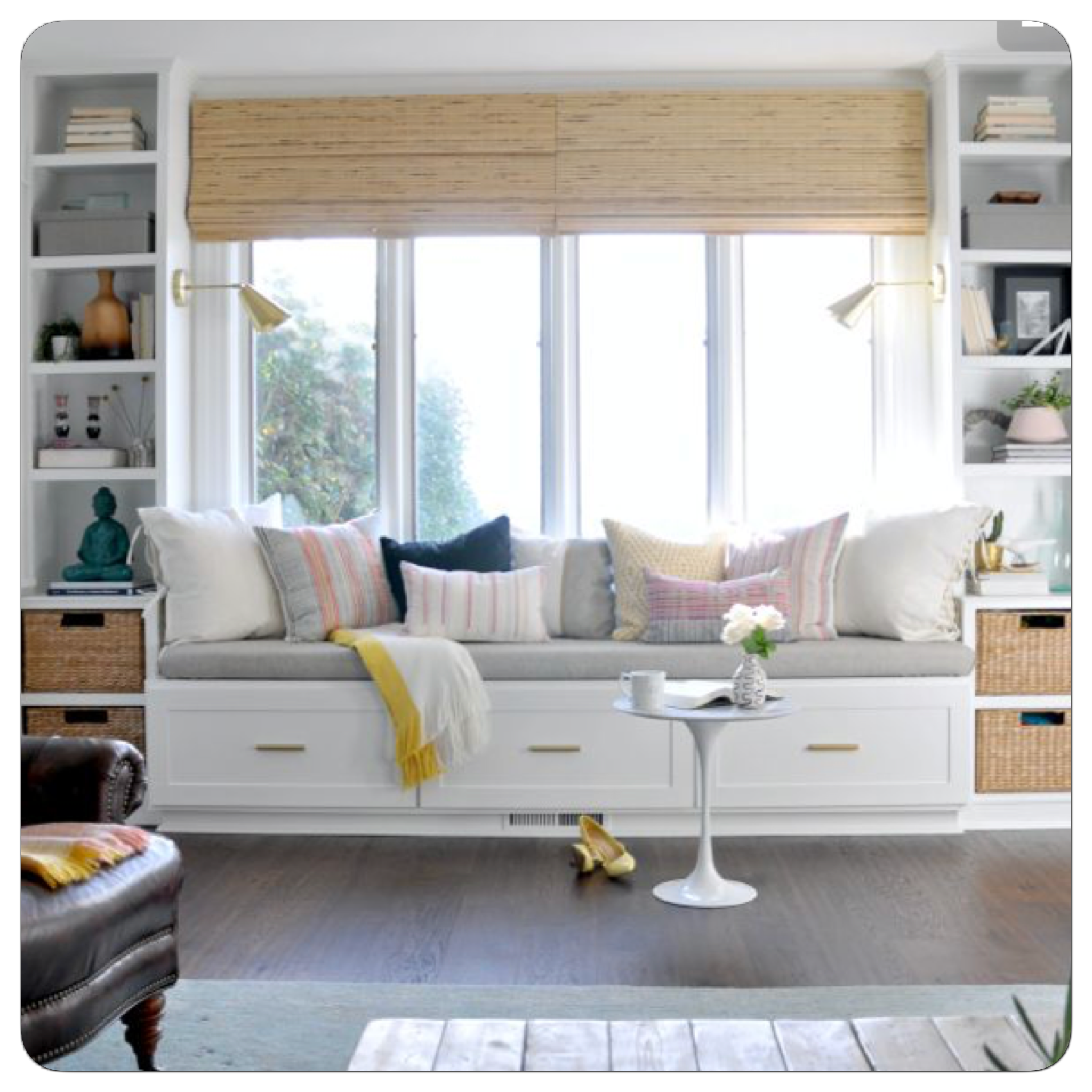 Living Room Built In Storage: Pin By Erin Stewart On Living Room