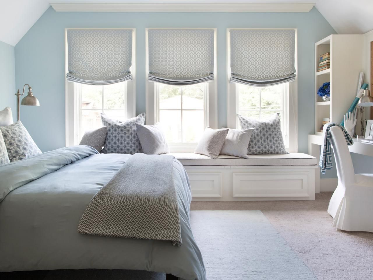 Window behind bed ideas  welcoming guest bedroom ideas for winter visitors  home remodeling
