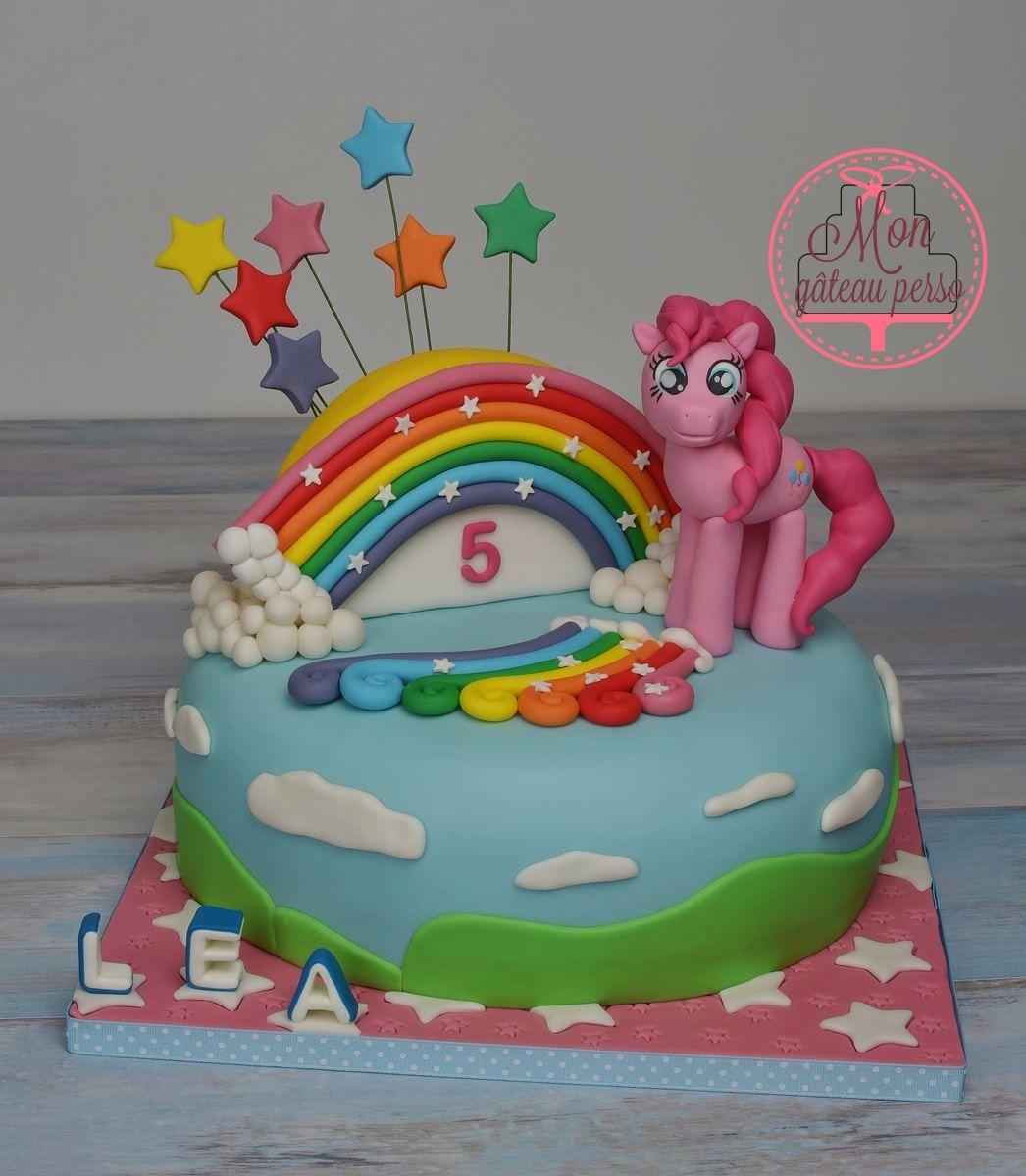 My Little Pony Pinkie Pie Cake Design En 2019 Pinterest