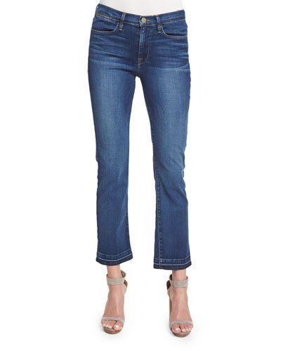 Le High Straight-Leg Cropped Jeans, Thrasher
