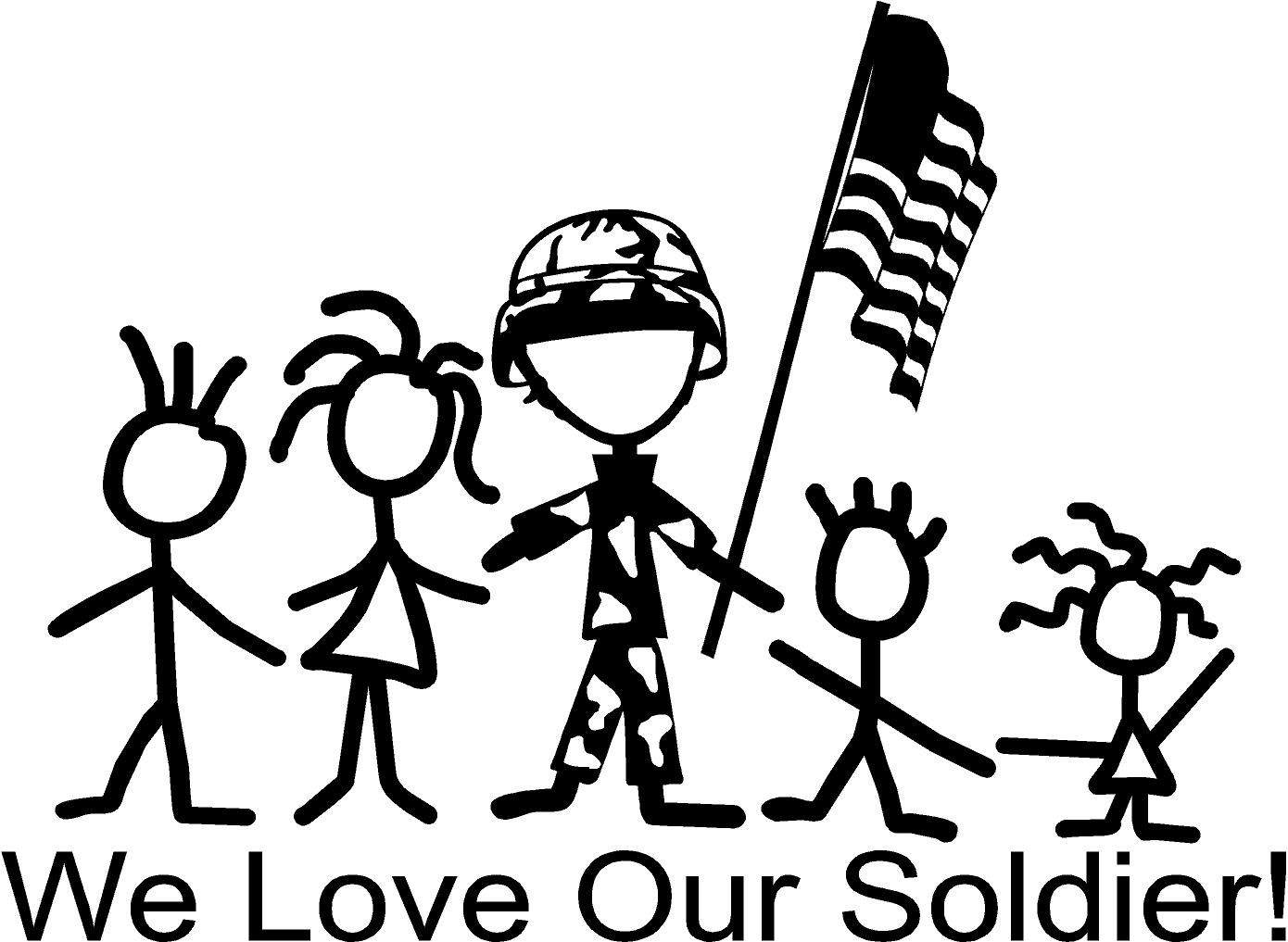 Create Your Own Stick Figure Family Choose From Many Themes Like Disney Dr Seuss Atv Fishing Scouts Police Stick Figure Family Stick Figures Heartfelt