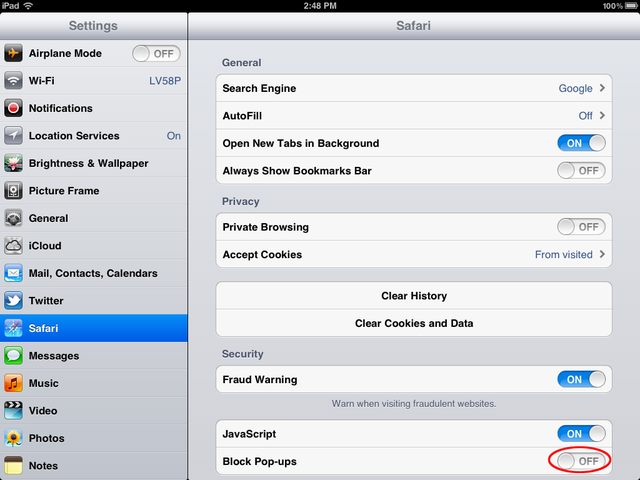 How To Stop Annoying Pop Ups In Safari Ipad Iphone Good To Know