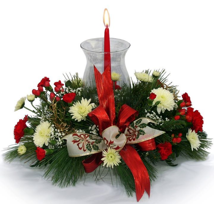 Christmas Wedding Flower Ideas: Christmas Floral Centerpieces - Google Search
