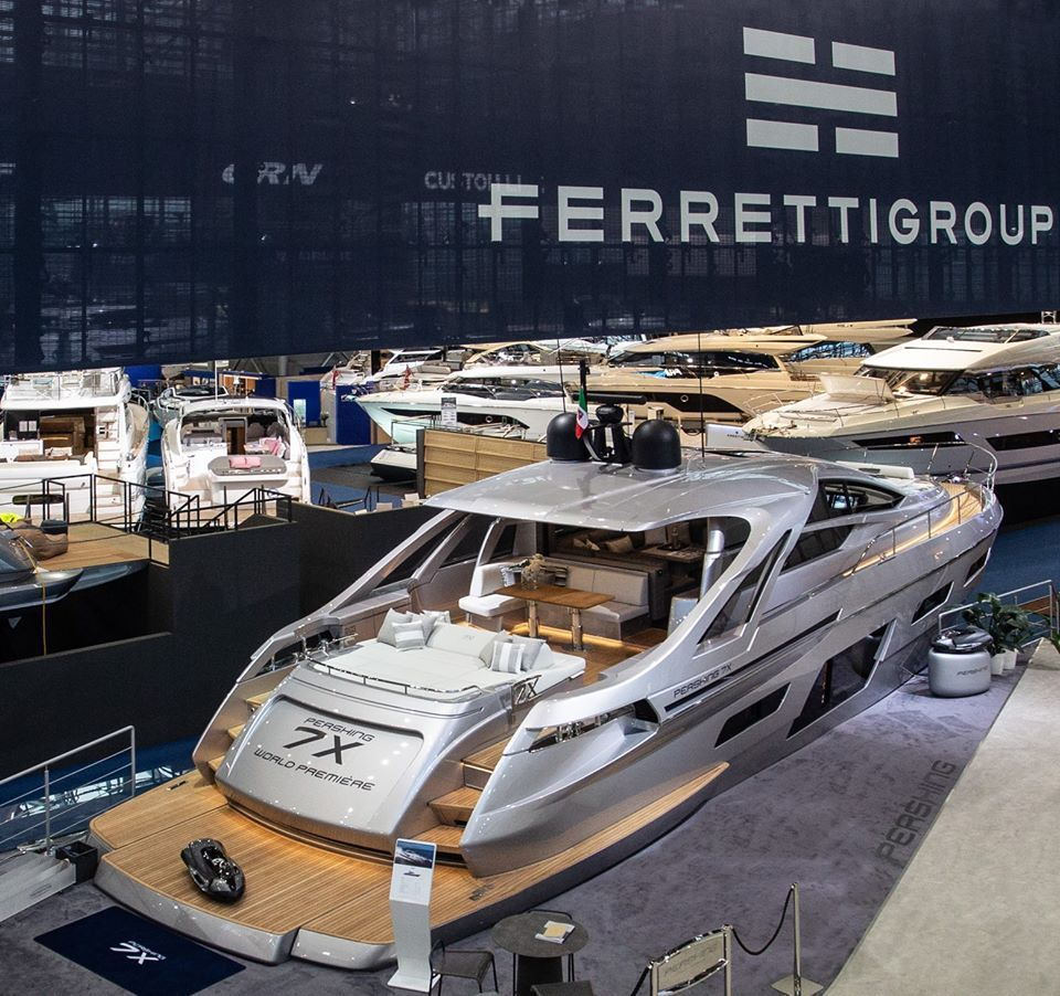 Pershing 7X in 2020 Yacht design, Boats luxury, Pershing