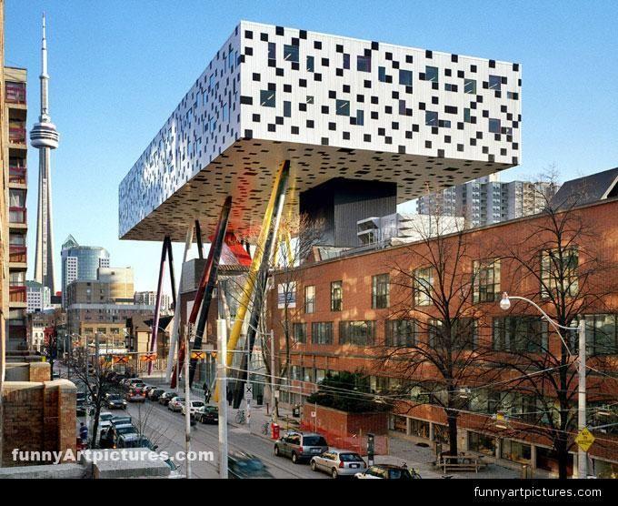 Architecture ontario college of art modern architecture building design contemporary structural design structure