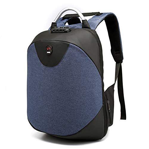 1fc713b70703f Herrenrucksack Business Bag Freizeittasche Schultasche Laptoptasche  Reisetasche Modetrend Große Kapazität FENPING (Farbe   Blau)