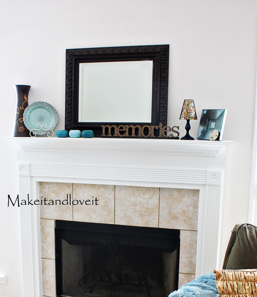 decorate my home part 11 fireplace mantel fireplace shelves rh pinterest com how to decorate my fireplace for xmas how to decorate my fireplace mantel for christmas
