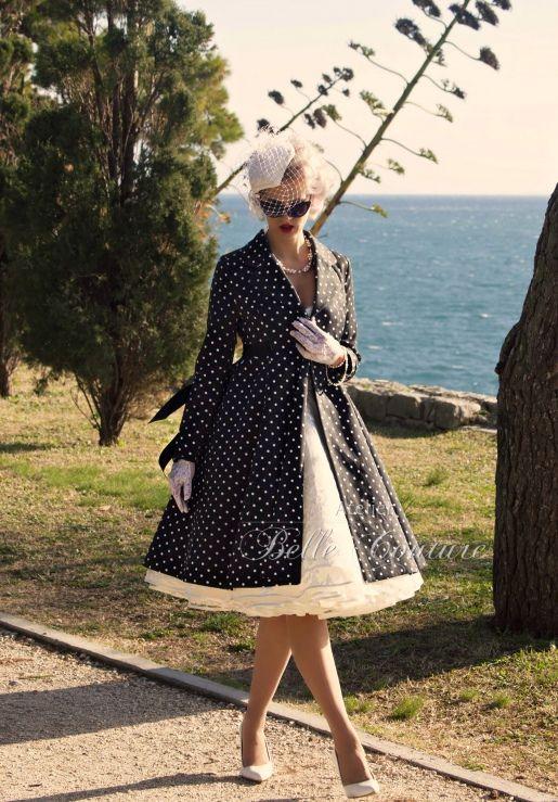 Atelier Belle Couture | Mantel Im Vintage Stil