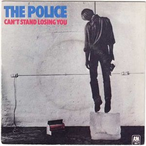 Police The Can T Stand Losing You Police Dead End Job Single Record