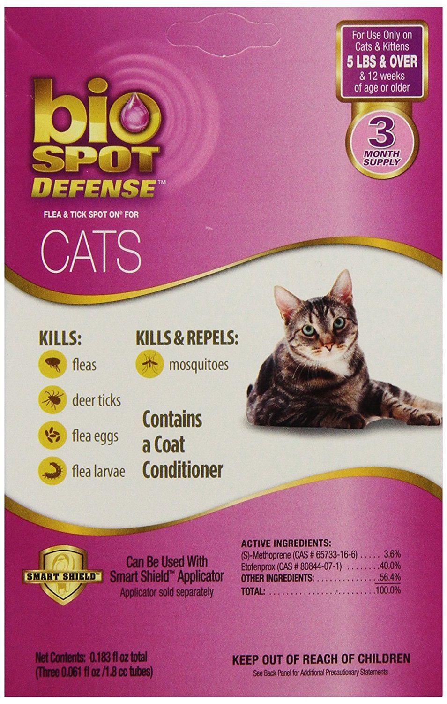 Bio Spot Active Care Flea and Tick SpotOn for Cat