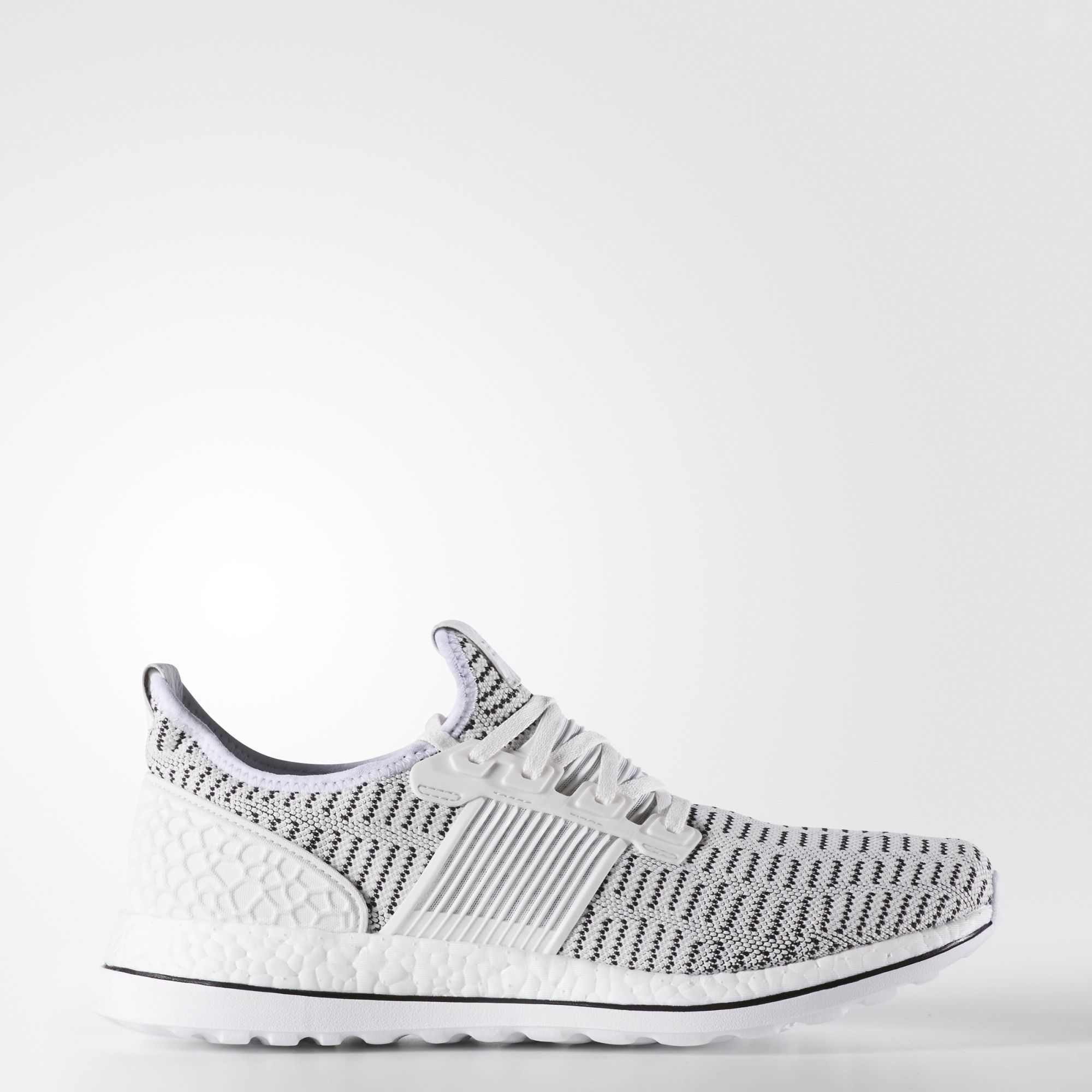 adidas pure boost zg crystal white