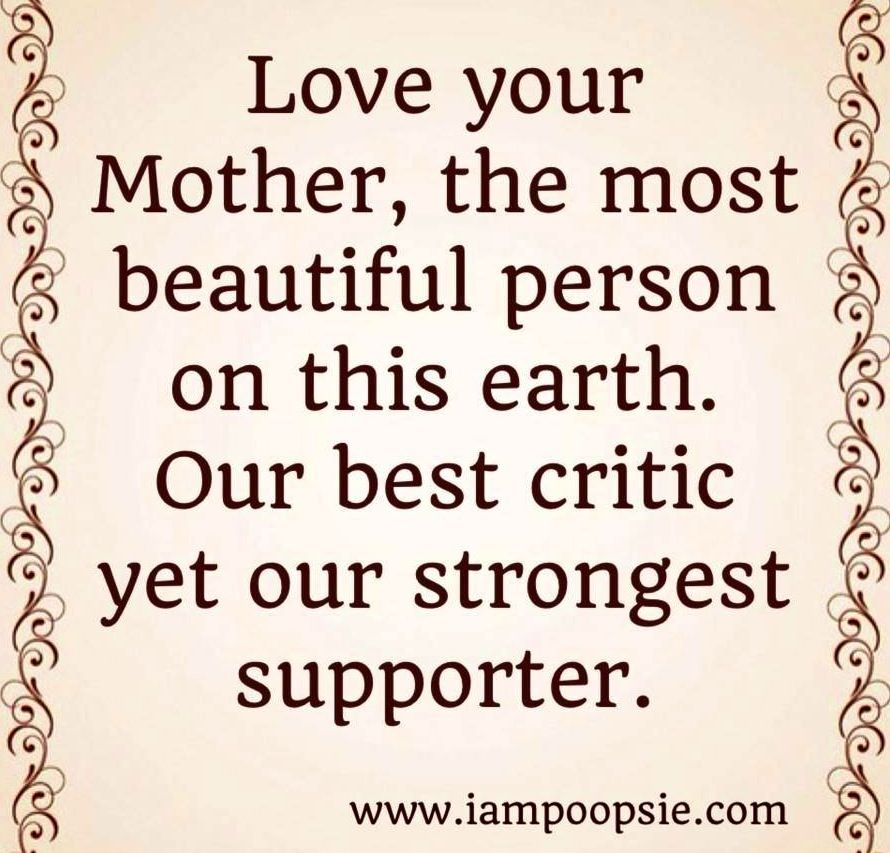Quotes About Loving Your Mother: Your Mom Loves You Quotes. QuotesGram