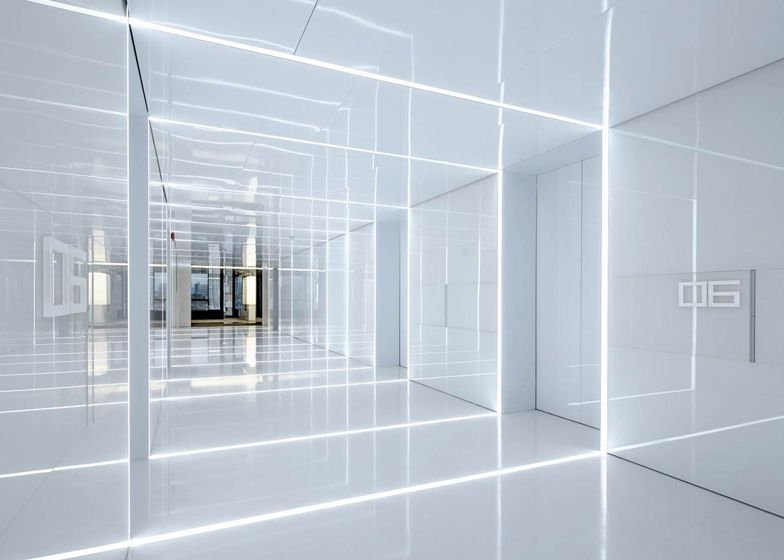 bright office. Shanghai Studio AIM Architecture Designed The Office For Soho China, Property Developers Behind Zaha Bright R