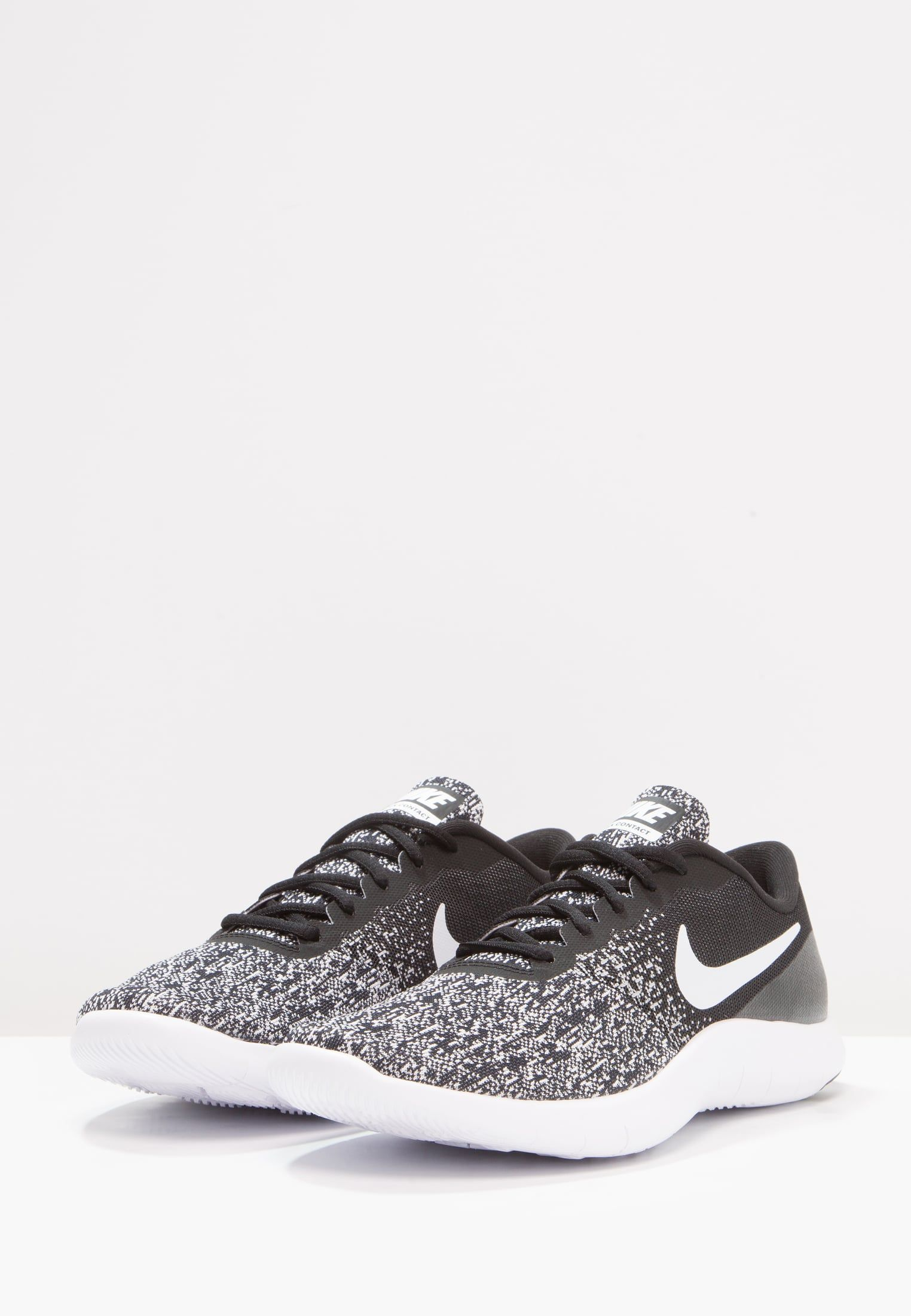 3fabf9270c7 Nike Performance FLEX CONTACT - Loopschoen neutraal - black/white -  Zalando.be