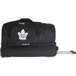 Toronto Maple Leafs 27-Inch Rolling Duffel Bag Black  d4e90f087