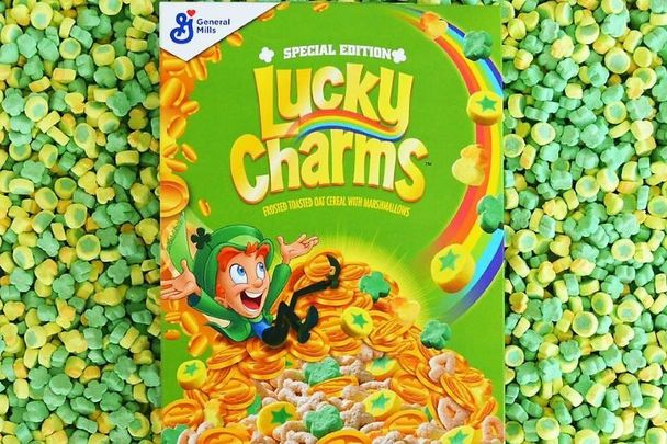 Special Edition Lucky Charms Released For St Patrick S Day 2020 Lucky Charms Cereal Lucky Charm Lucky The Leprechaun