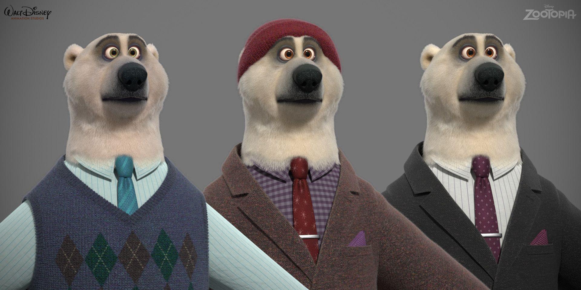 Artstation Polar Bears Tyler Bolyard Polar Bear Bear Character Furry
