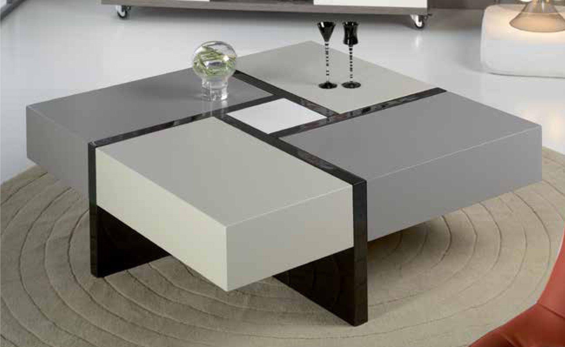 Mesas centro mesa cuadrada elodie decoraci n gim nez for Mesas de centro modernas y baratas