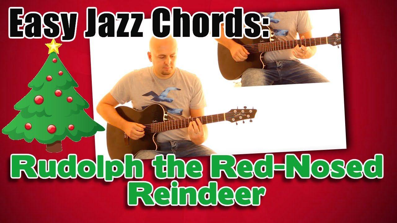 Eine Gitarren-Begleitung im Swing-Stil passend zum Weihnachtslied ...