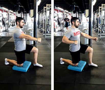 1895540c185d 5 Anti-Rotation Exercises for the Core  Kneeling Pallof Press