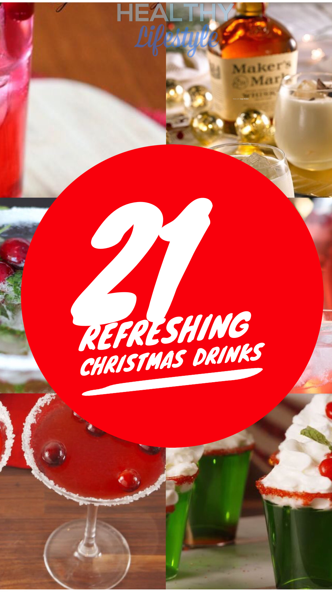 Refreshing Christmas drinks alcohol & nonalcohol