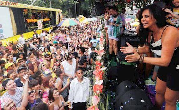 República da Conga, Conga: Gretchen participa do Bloco Love Fest na região central de São Paulo