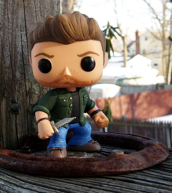 Custom Supernatural Funko Pop Dean Winchester Supernatural