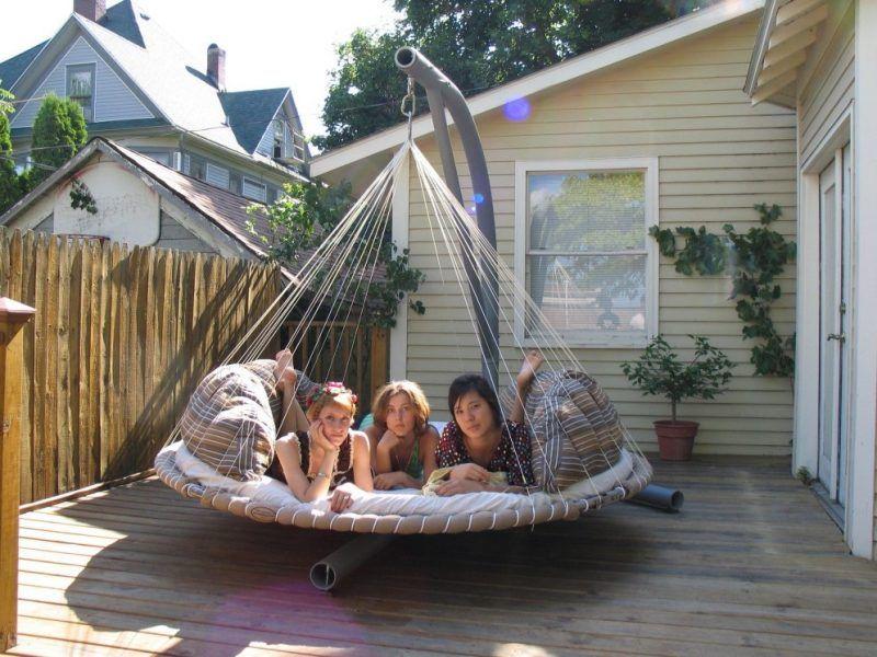 Klettergerüst Erwachsene : 31 kreative ideen für schaukel erwachsene einrichten und