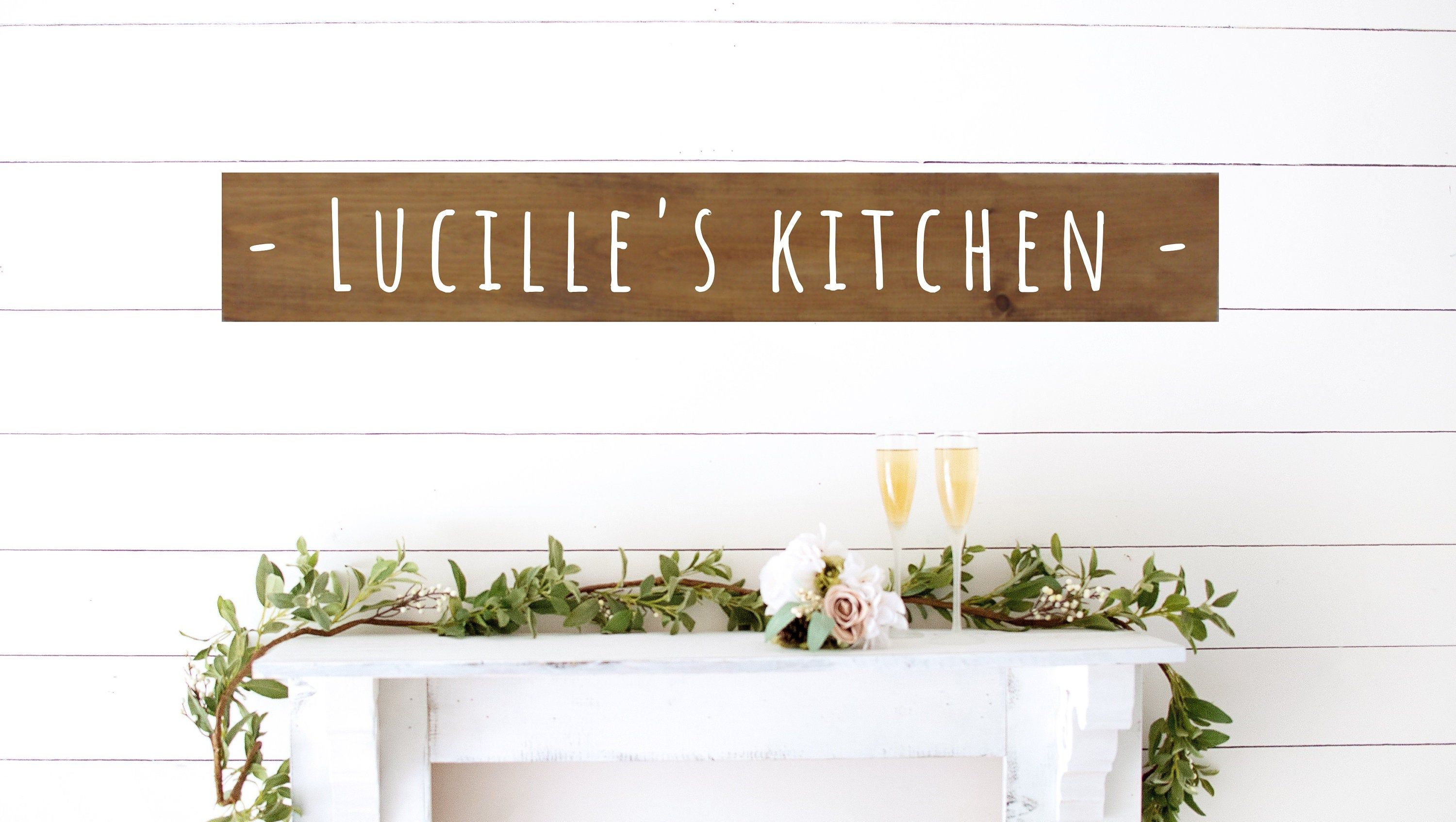 Personalized Kitchen Signs Moms Kitchen Sign Diff Styles