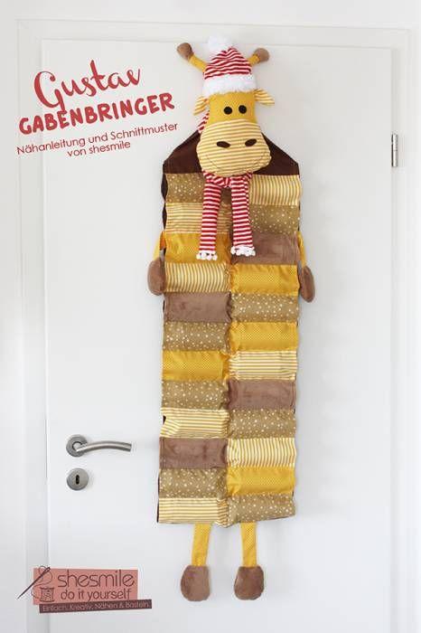 Adventskalender -Gustav Gabenbringer- (Nähanleitung und ...
