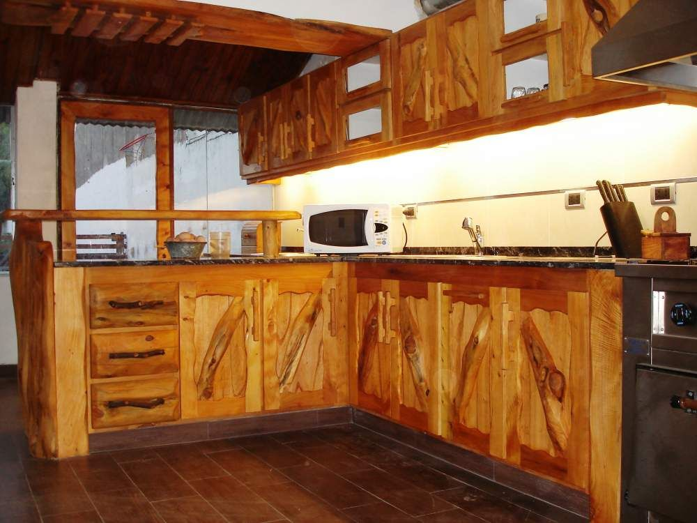 E ramirez muebles r sticos compa ia argentina mar del for Muebles cocina rusticos