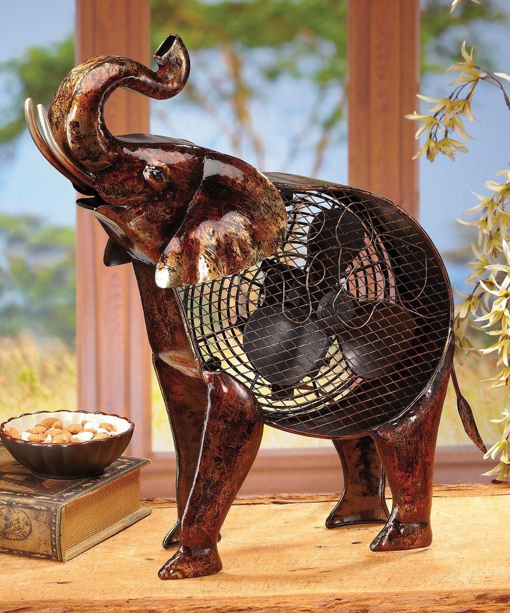 African Elephant Metal Fan   Elephant home decor, Elephant ... - photo#10