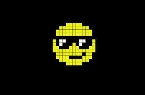 Cool Emoji Pixel Art Pixel Art Design Anime Pixel Art