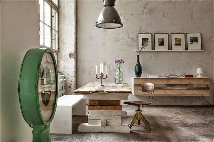 Las Cositas de Beach & eau: Un estudio en una vieja fábrica de BERLÍN......................