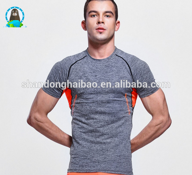 Outdoor sports running Tshirt hygroscopic breathable