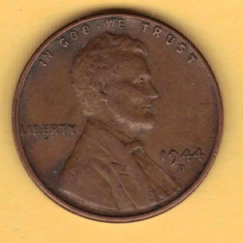 1944d Us Coin 1944 D Wheat Penny 1944 D Lincoln Cent United States Circulated 2 Coins Wheat